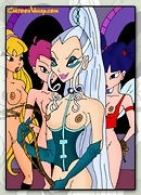 Winx babes get their pussies fucked by studs and witches!