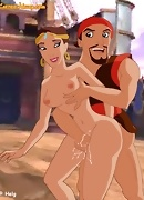 Sinbad and Marina spend time together, being naked and having hard, rough sex