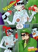 Porn comics about Harley Joker and Riddler